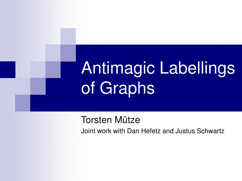 antimagic labellings of graphs l.