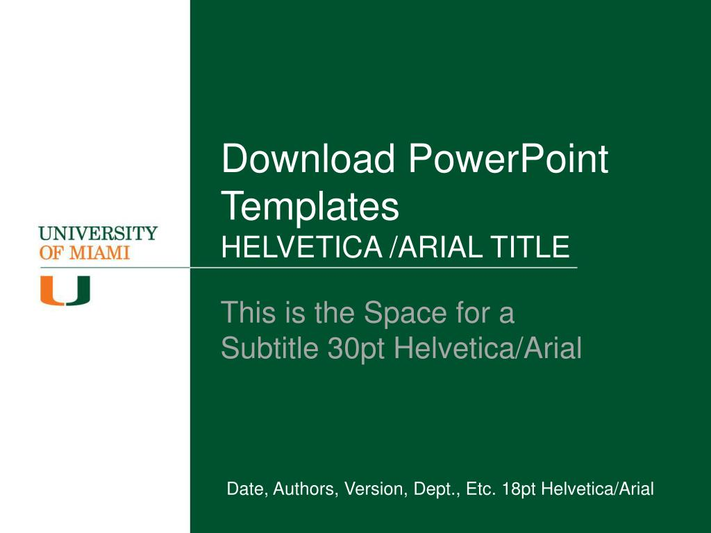 download powerpoint templates helvetica arial title l.
