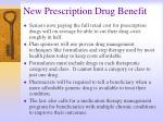 new prescription drug benefit33