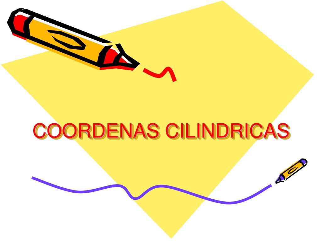 coordenas cilindricas l.