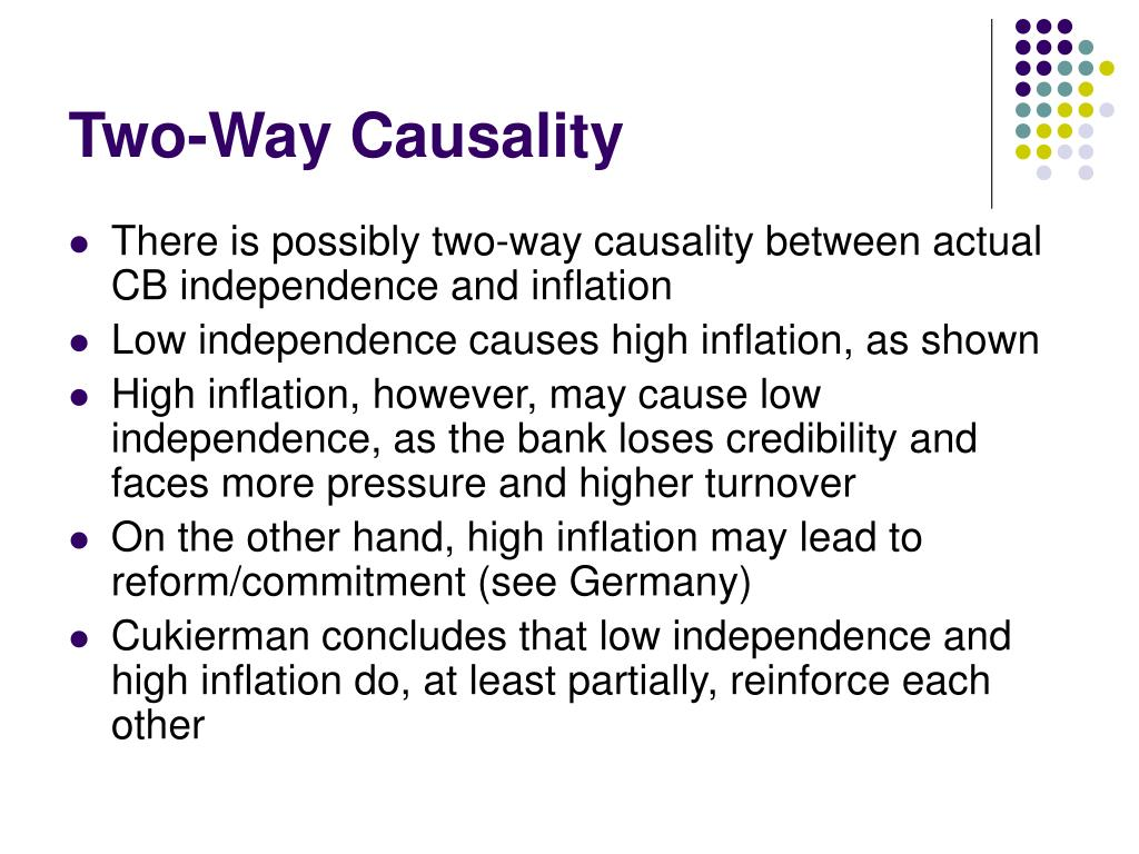 Two-Way Causality
