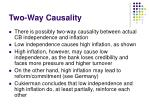 two way causality