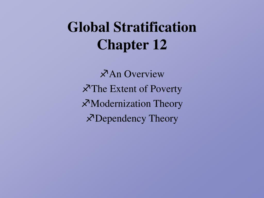 global stratification chapter 12 l.