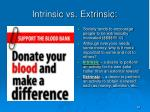 intrinsic vs extrinsic