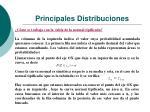 principales distribuciones18