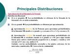 principales distribuciones22