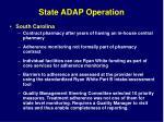 state adap operation
