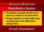distributive justice