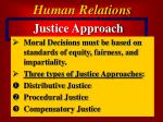 justice approach