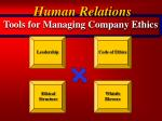 tools for managing company ethics