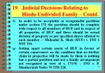 19 judicial decisions relating to hindu undivided family contd