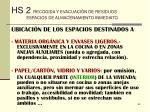 hs 2 recogida y evacuaci n de residuos espacios de almacenamiento inmediato63
