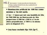hs 2 recogida y evacuaci n de residuos otras caracter sticas del almac n de contenedores27