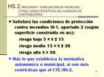 hs 2 recogida y evacuaci n de residuos otras caracter sticas del almac n de contenedores28