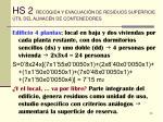 hs 2 recogida y evacuaci n de residuos superficie til del almac n de contenedores25