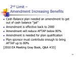 2 nd limit amendment increasing benefits14