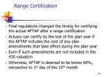 range certification34