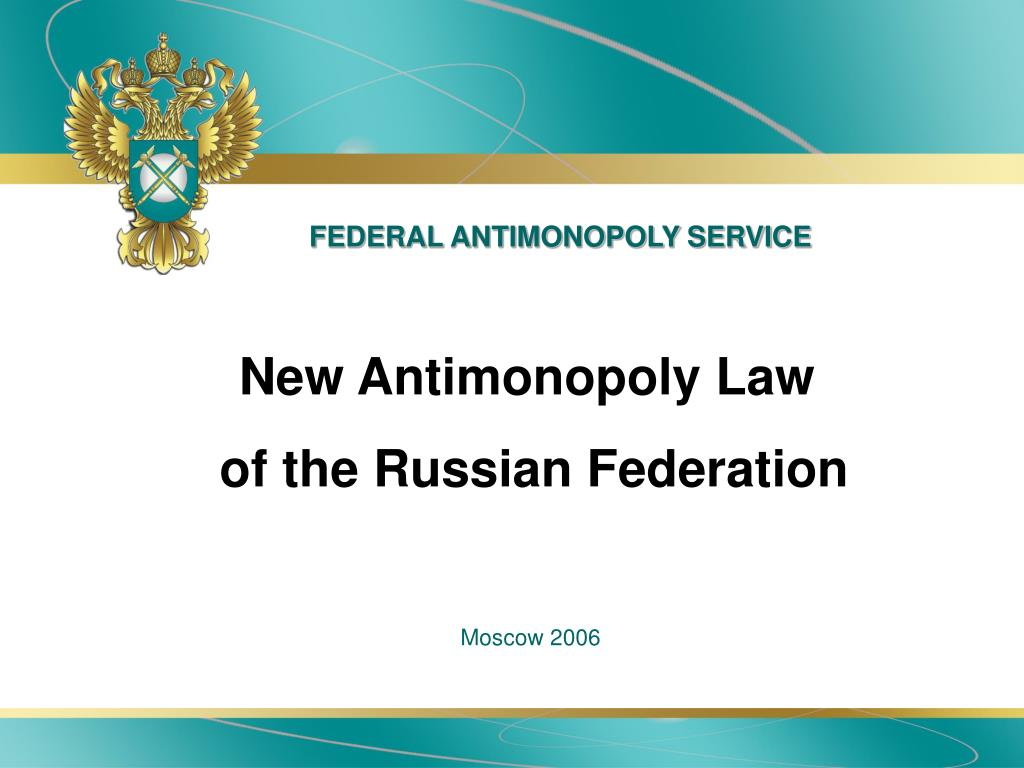 federal antimonopoly service l.