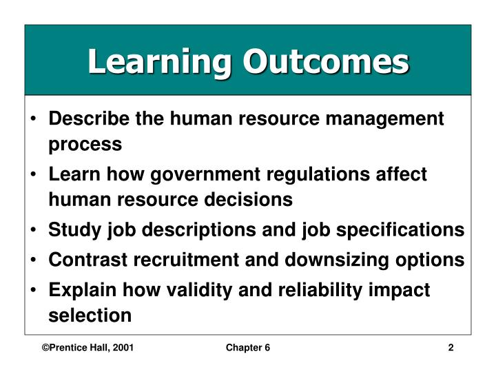 a research on human resource management the process of staff recruitment and selection Grounded theory: its use in recruitment and the knowledge and application of the human resource management practices of approach to the research process.