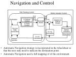 navigation and control