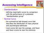 assessing intelligence15