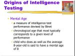 origins of intelligence testing3