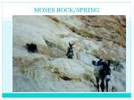 moses rock spring