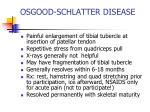 osgood schlatter disease