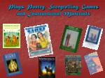 plays poetry storytelling games and instructional materials