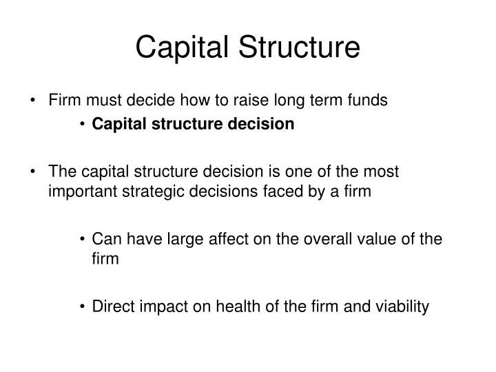 Capital structure2