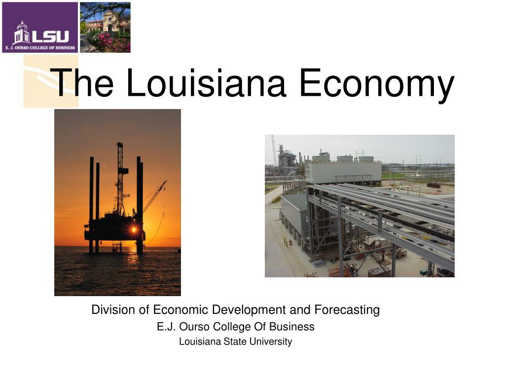 the louisiana economy l.