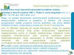 implementacja dyrektywy cafe28