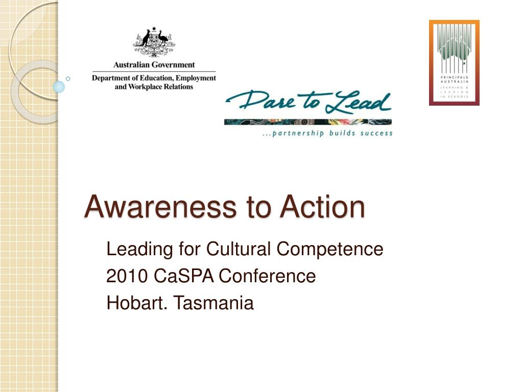 awareness to action l.
