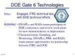 doe gate 6 technologies