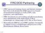 itrc dod partnering