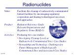 radionuclides