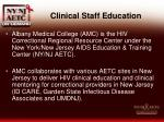 clinical staff education