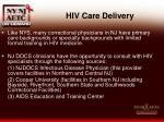 hiv care delivery