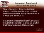new jersey department of corrections con t5