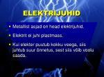 elektrijuhid