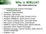 who is wwlua http www wwlua org