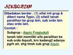 subgrup