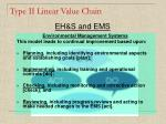 type ii linear value chain12