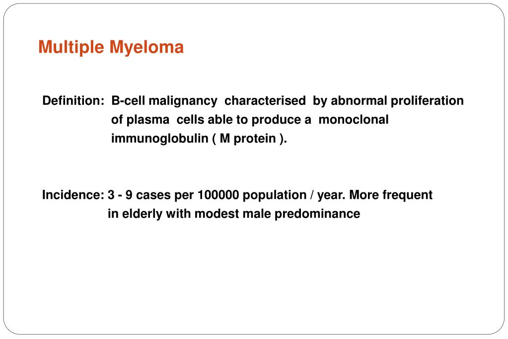 multiple myeloma l.