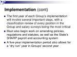 implementation cont8