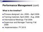 performance management cont25
