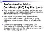 professional individual contributor pic pay plan cont17