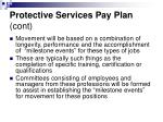 protective services pay plan cont