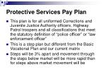 protective services pay plan