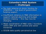 colombia s m e system challenges